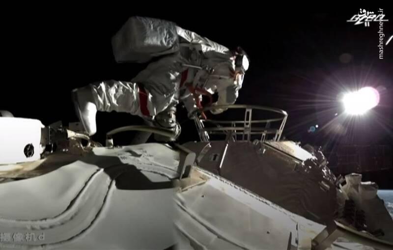فضانوردان چینی