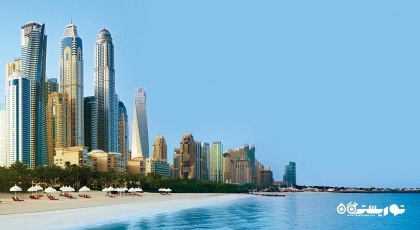 سرگرمی ساحل وان اند اونلی رویال میراژ شهر امارات متحده عربی کشور دبی