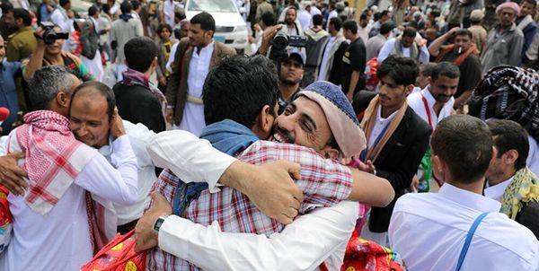 تبادل 1056 اسیر یمنی با موفقیت به پایان رسید