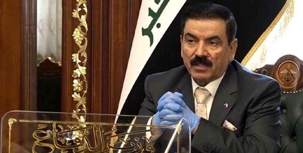 وزیر دفاع عراق وارد ترکیه شد