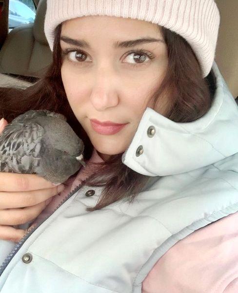 پرنده کوچک خوشبختی پریناز ایزدیار + عکس