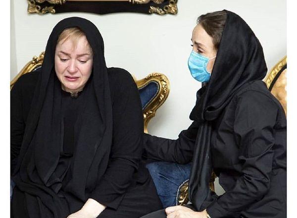 نعیمه نظام دوست در غم از دست دادن دوستش + عکس