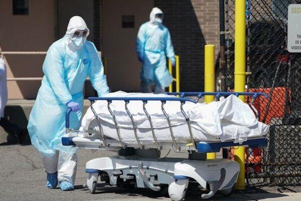 قربانیان کووید-۱۹ در آمریکا از مرز هزار نفر در روز گذشت