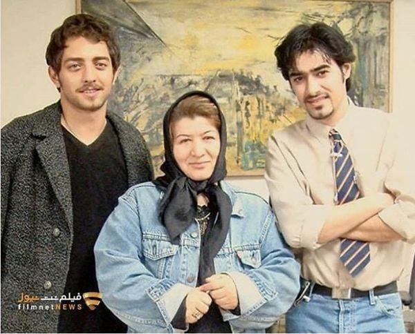 شهاب حسینی و بهرام رادان در دوران جوانی + عکی
