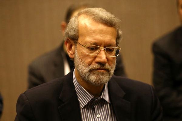 رئیس مجلس به تهران بازگشت