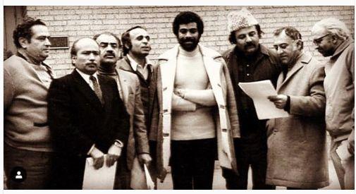 عکسی دیدنی از منوچهر نوذری در کنار سوپراستارهای دهه پنجاه
