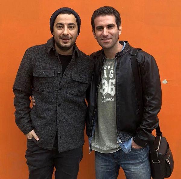 نویدمحمدزاده وهوتن شکیبا در کنار هم + عکس