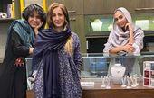 حضور شقایق دهقان در مغازه شاهرخ استخری + عکس