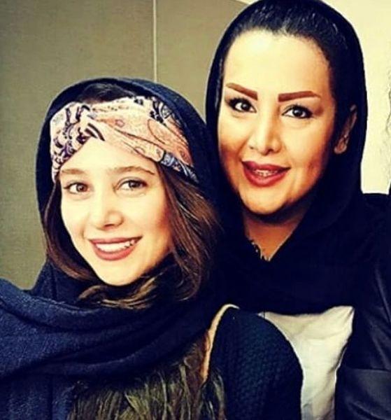 الناز حبیبی در کنار دوستش + عکس