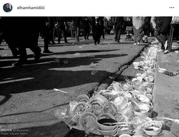 هشدار الهام حمیدی برای ماه محرم+عکس