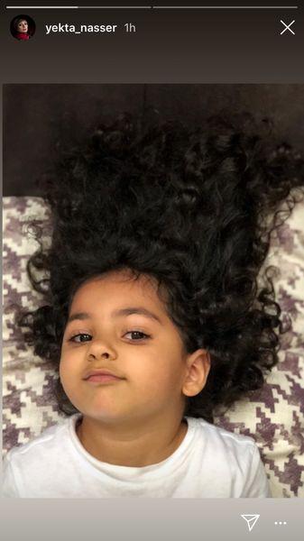 دختر مو فرفری یکتا ناصر + عکس