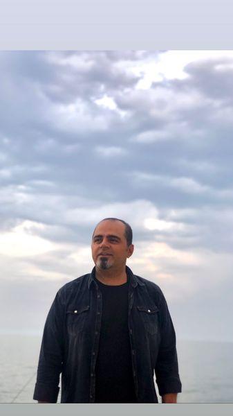 رضا مولایی در زیر آسمان بیکران + عکس