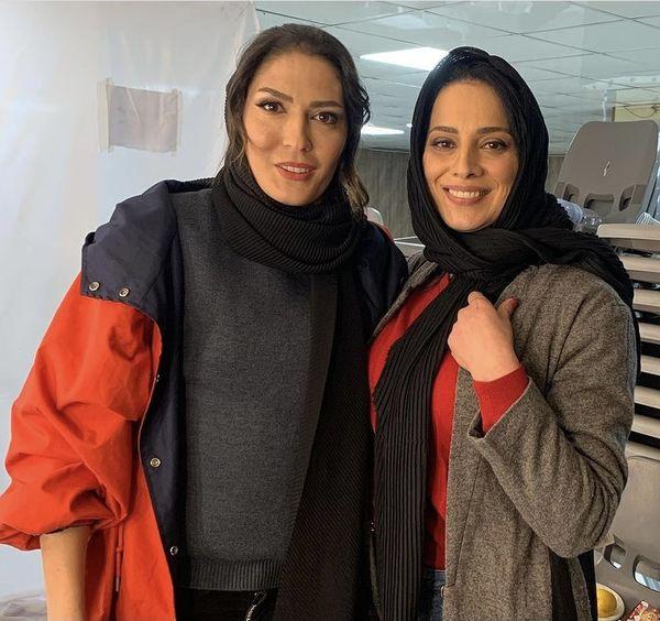روشنک عجمیان در کنار زن قهرمان ایران + عکس