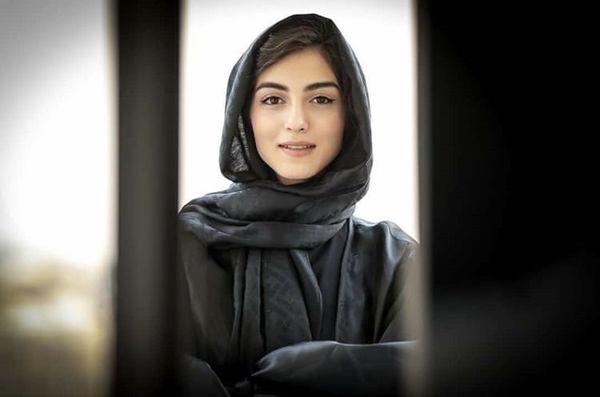 چهره بدون گریم راضیه سریال آقازاده + عکس