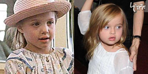 عکسهای مادر-دختری ستارهها وقتی همسن بودند