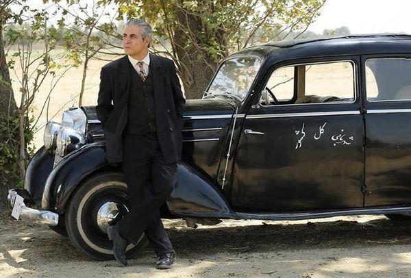 ماشین مدل قدیمی امیر غفارمنش + عکس