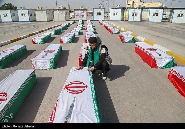 فردا؛ ورود پیکر مطهر 56 شهید دفاع مقدس به کشور