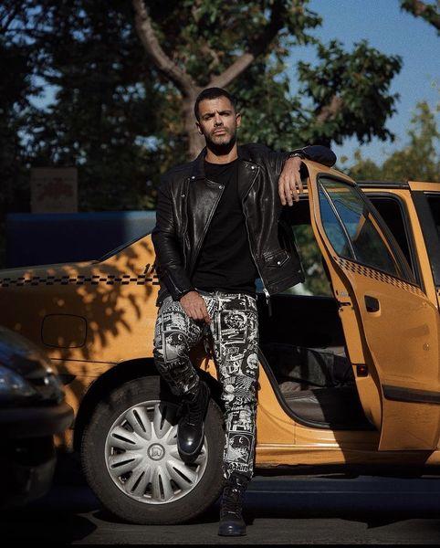 ماشین تاکسی سیروان خسروی + عکس