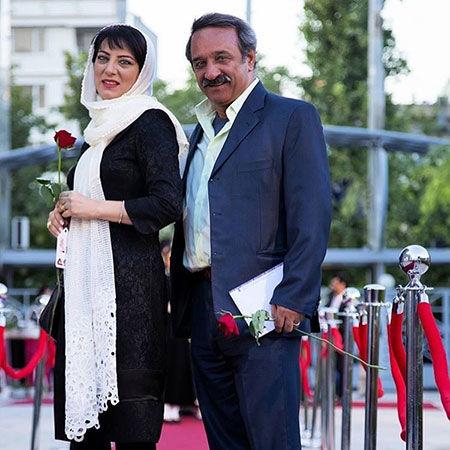 خانم وکیل بوی باران با همسر واقعی اش+عکس