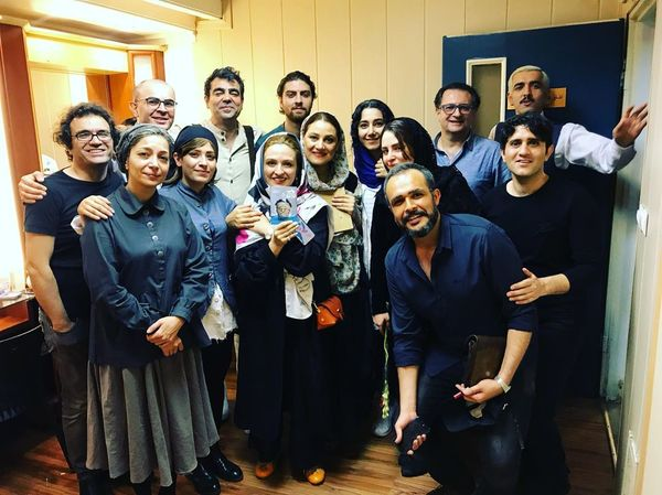 گریم جدید گلاره عباسی که اعتراض دیگر بازیگران را درآورد!+عکس