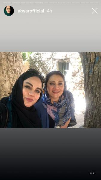 مسافرت خانم بازیگر و کارگردان به یزد+عکس