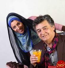 عکس سرحال از رضا رویگری و همسر جوانش