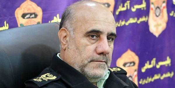 اجرای چهل و سومین مرحله از طرح رعد پلیس پیشگیری و دستگیری۸۶۴ سارق