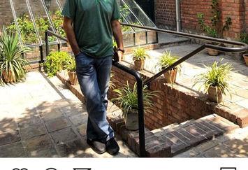 فرهاد جم مهمان خانه جلال آل احمد+عکس