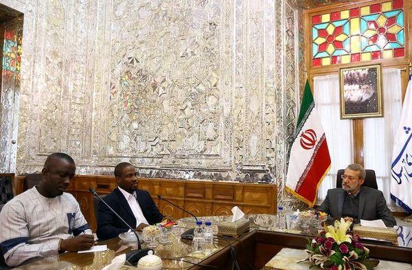 لاریجانی با رئیس گروه دوستی پارلمانی غنا دیدار کرد