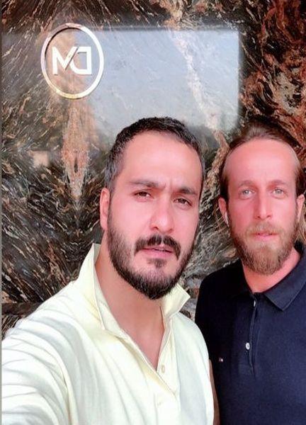 میلاد کی مرام و هم باشگاهیش + عکس
