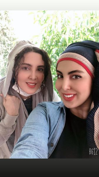 شباهت بیش از حد لیلا بلوکات و خواهرش + عکس