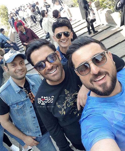محسن کیایی و دوستان قدیمی + عکس