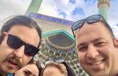 علی اوجی و دوستانش در سفر + عکس