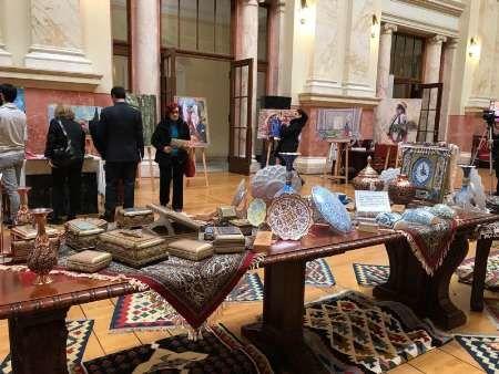 نمایشگاه صنایع دستی ایران در پارلمان صربستان برگزار شد