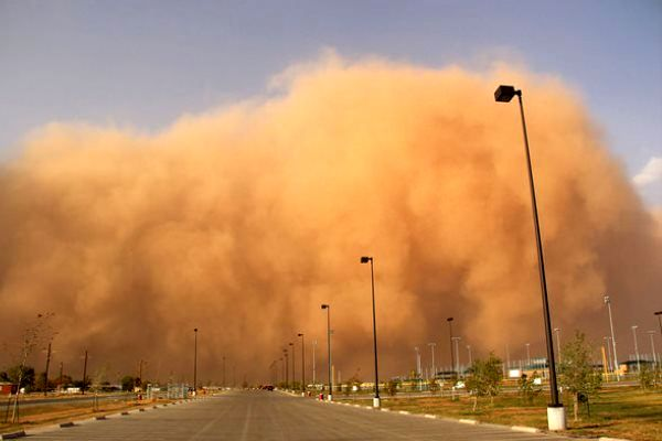 طوفان شن در هند ۴۱ کشته برجای گذاشت