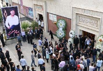 هنرمندان در مراسم یادبود بهنام صفوی/تصاویر