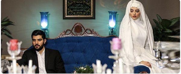 مراسم ازدواج سینا مهراد آقازاده + عکس