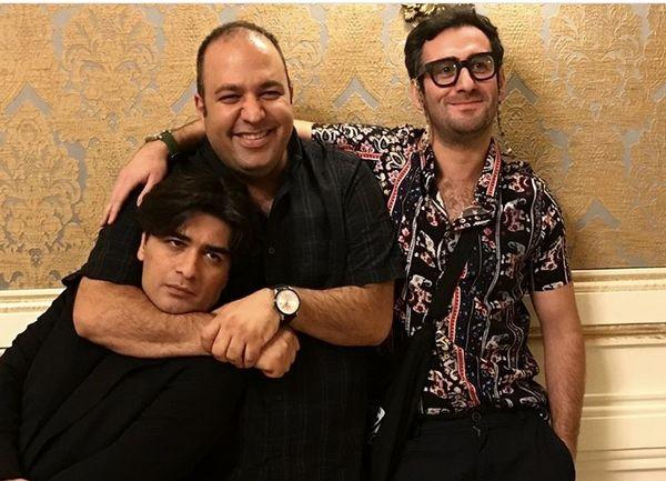 علی اوجیونیما شعبان نژاد در کنار پیانیست مشهور + عکس