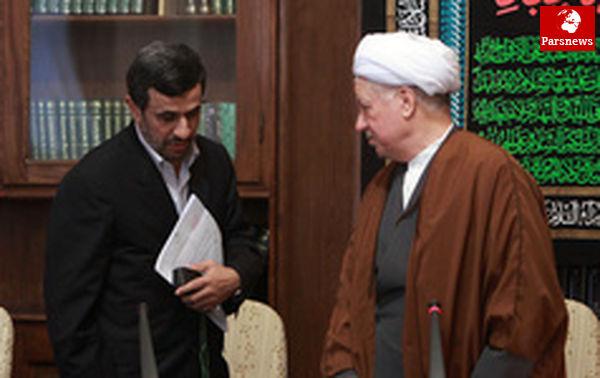 خبرتبریک تلفنی احمدینژادبه هاشمی رفسنجانی تکذیب شد