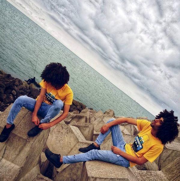 عکس لب دریایی دو قلوهای پایتخت