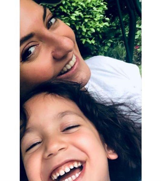 حال خوش مهناز افشار و دخترش در خارج از کشور+عکس