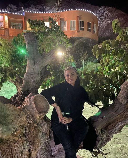 سفر حدیثه تهرانی به بیرجند + عکس