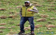 حامد کمیلی در دل طبیعت + عکس