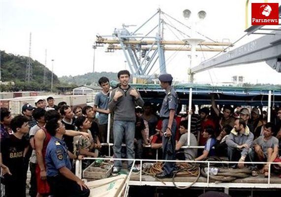 غرق شدن ۵۳ مهاجر افغانی در آبهای اندونزی
