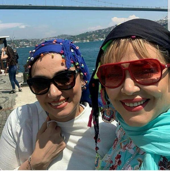 بهاره رهنما لب ساحل در ترکیه+عکس