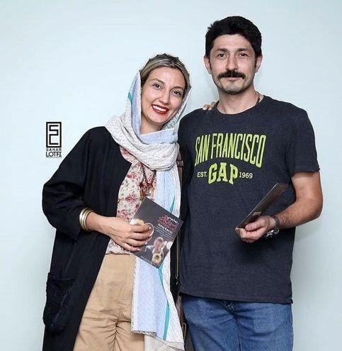 بازیگر سریال پناه آخر و همسرش با حجاب و پوششی متفاوت+عکس