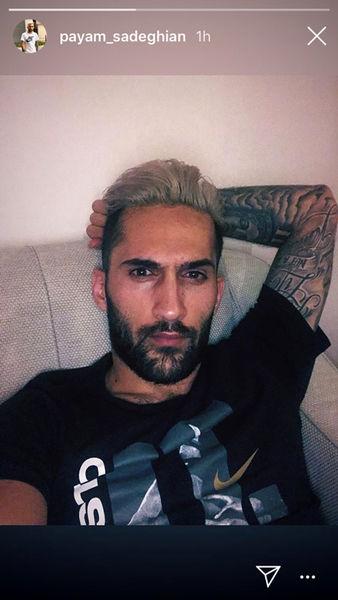 تتو عجیب آقای فوتبالیست+عکس