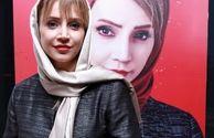 ظاهر جدید شبنم قلی خانی در اکران مانکن+عکس