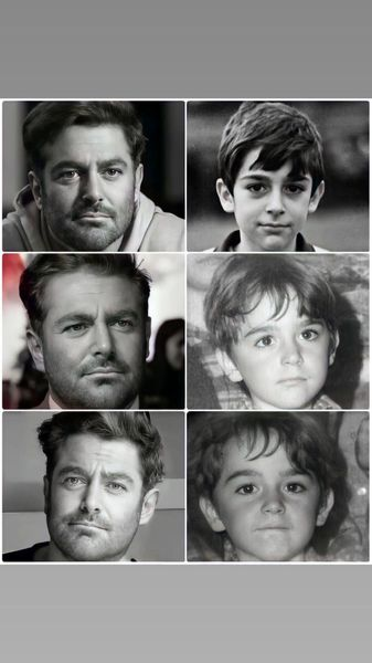 مقایسه چهره گلزار با دوران کودکیش + عکس