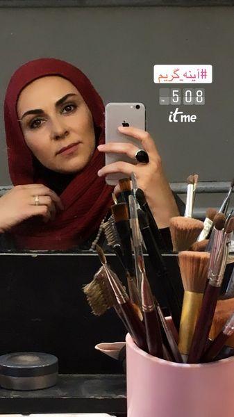 گریمجدید شیوا ابراهیمی + عکس